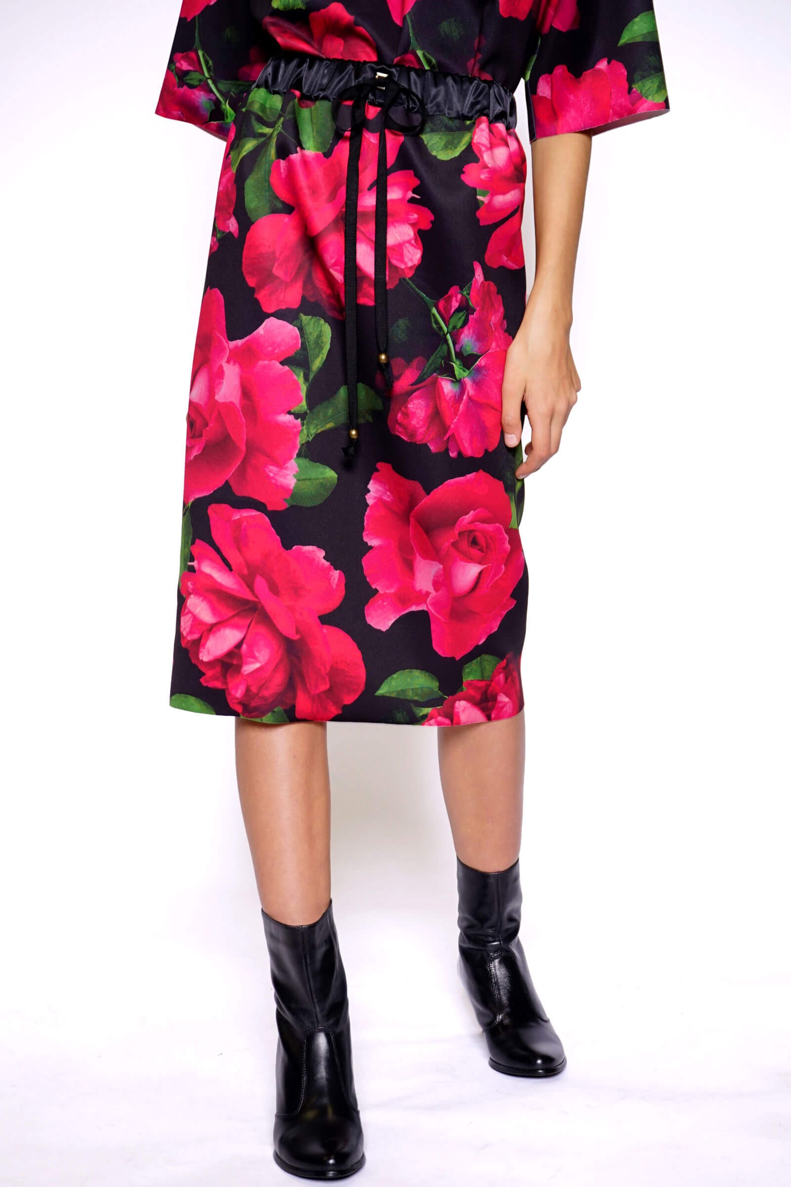 Printed skirt with an...