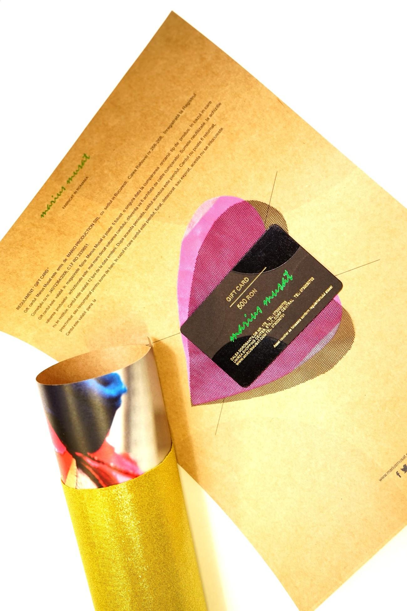 Gift card  500 lei