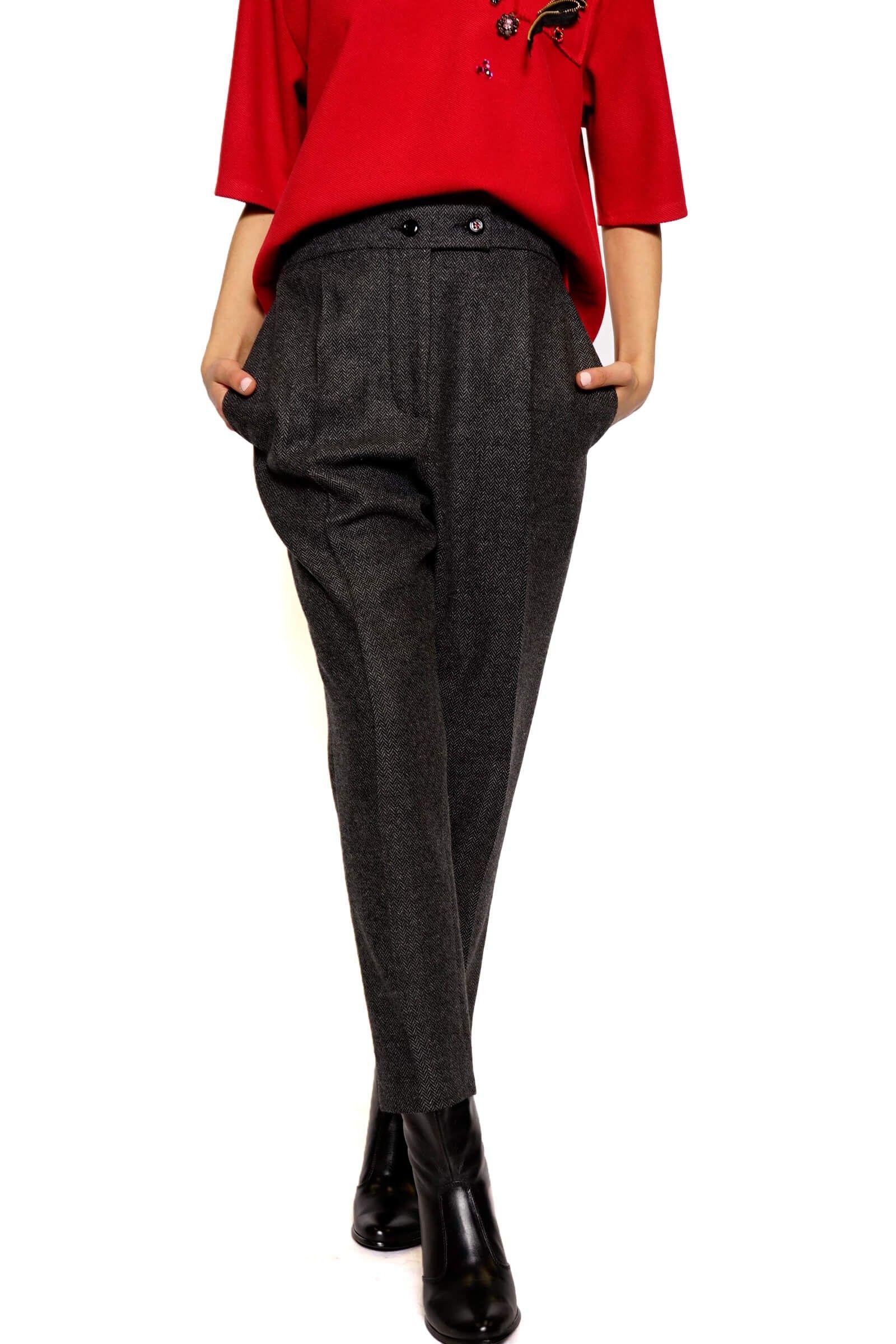 Fir fabric pants