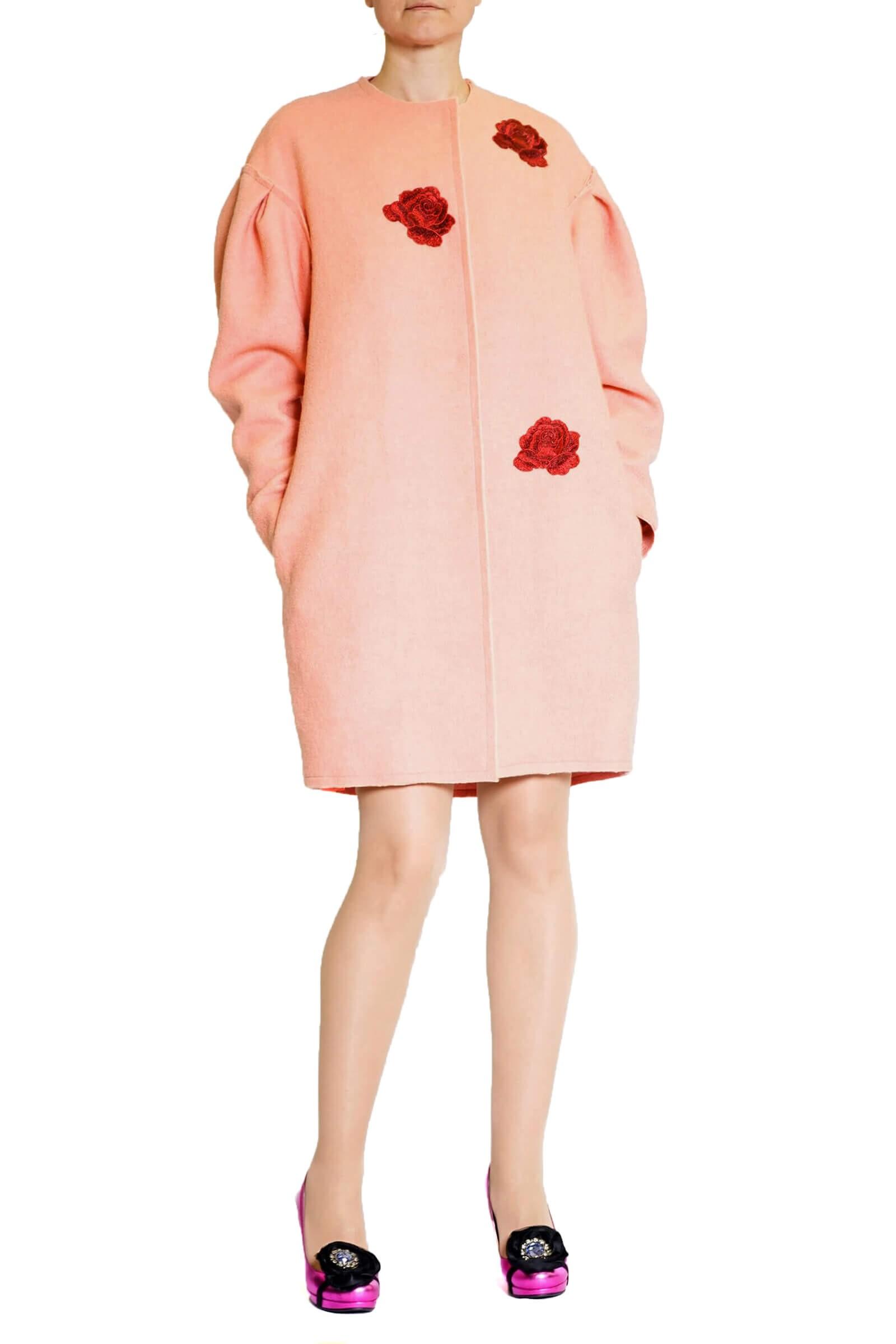 Palton cu trandafir
