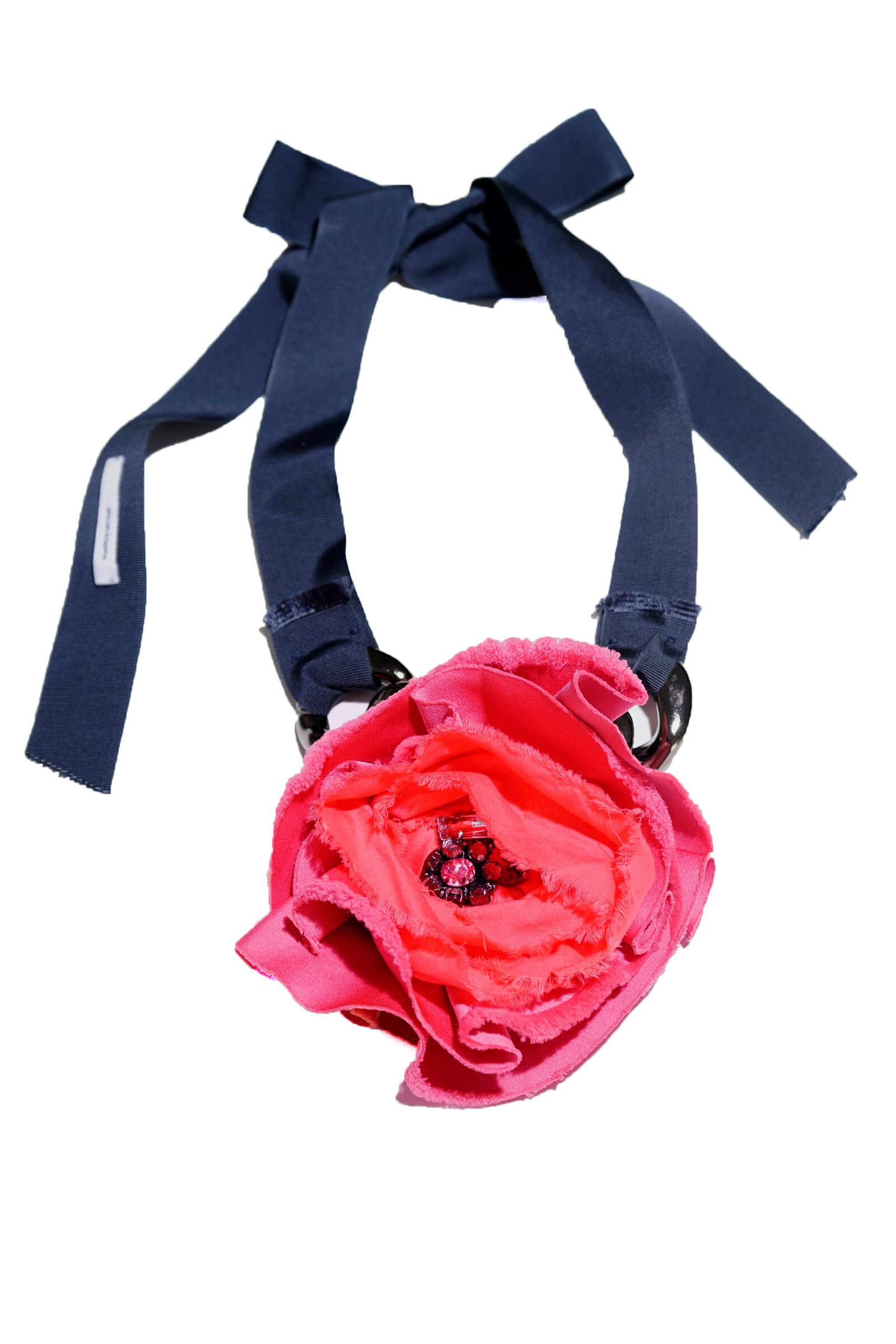Colier mac roz