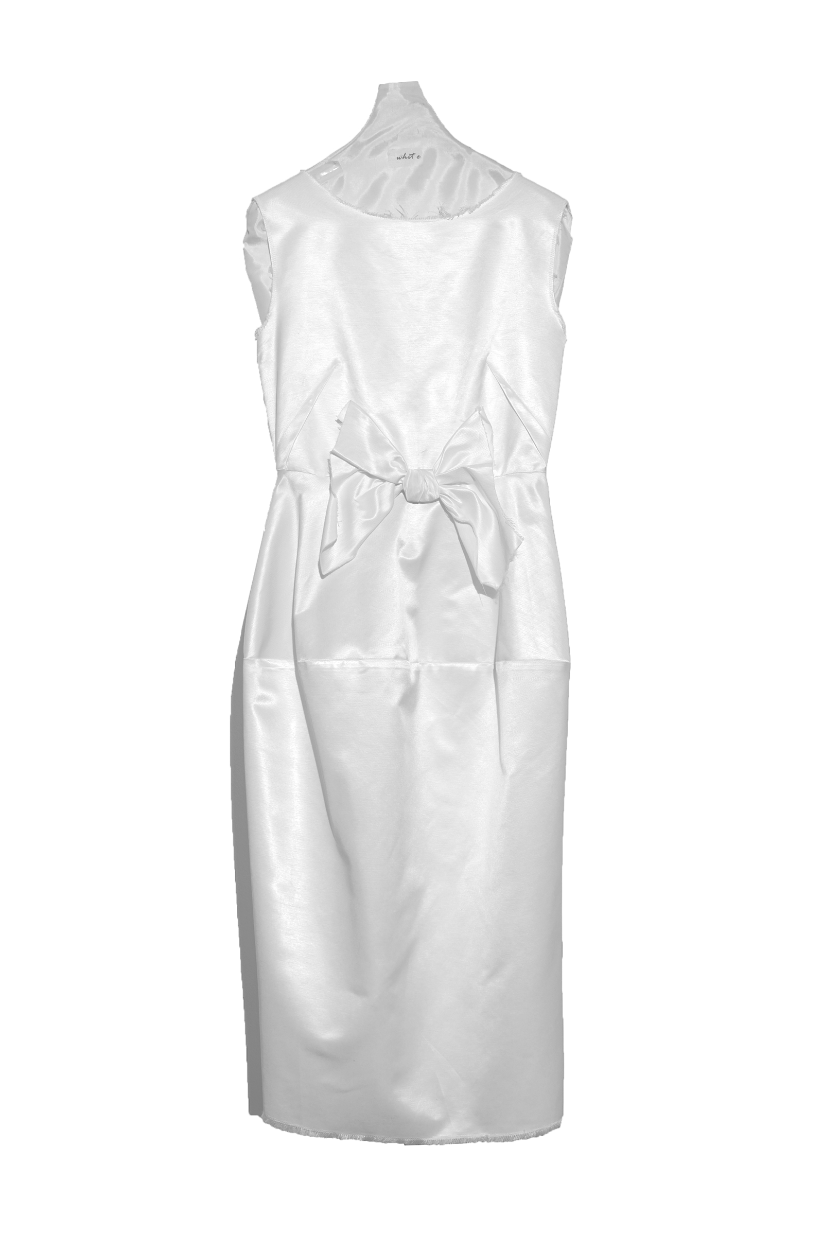 Rochie alba gogoasa lunga