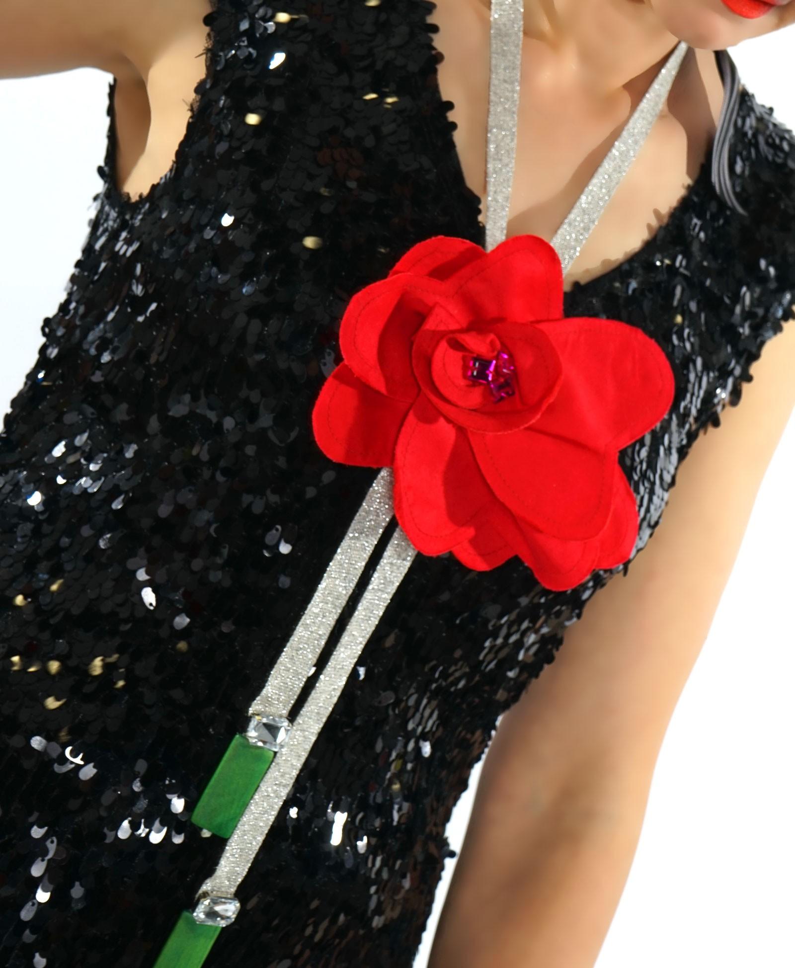 Rochie eleganta din paiete
