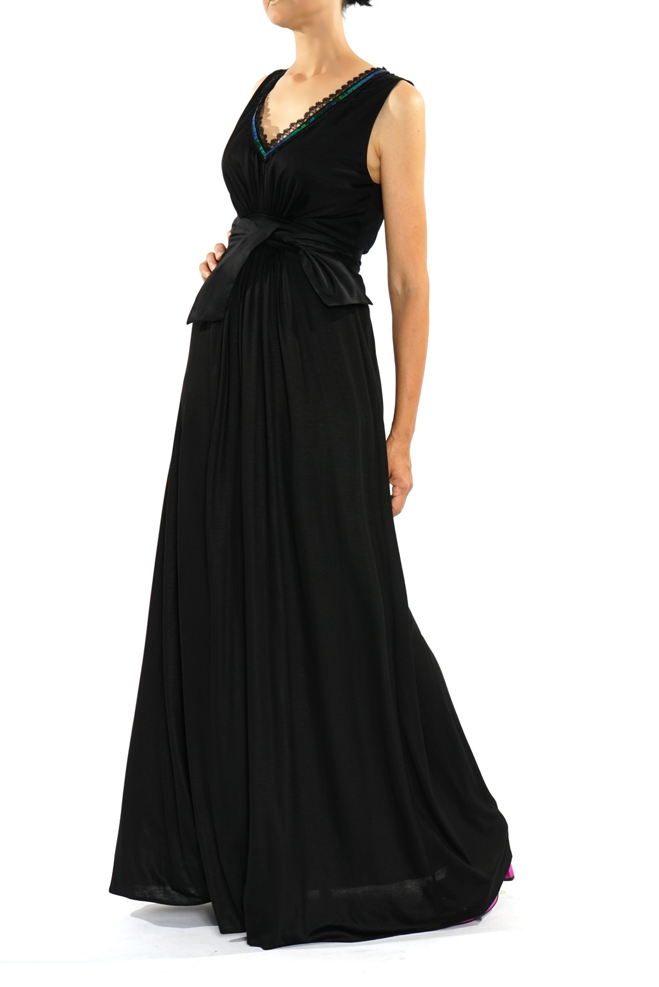 Rochie lunga neagra