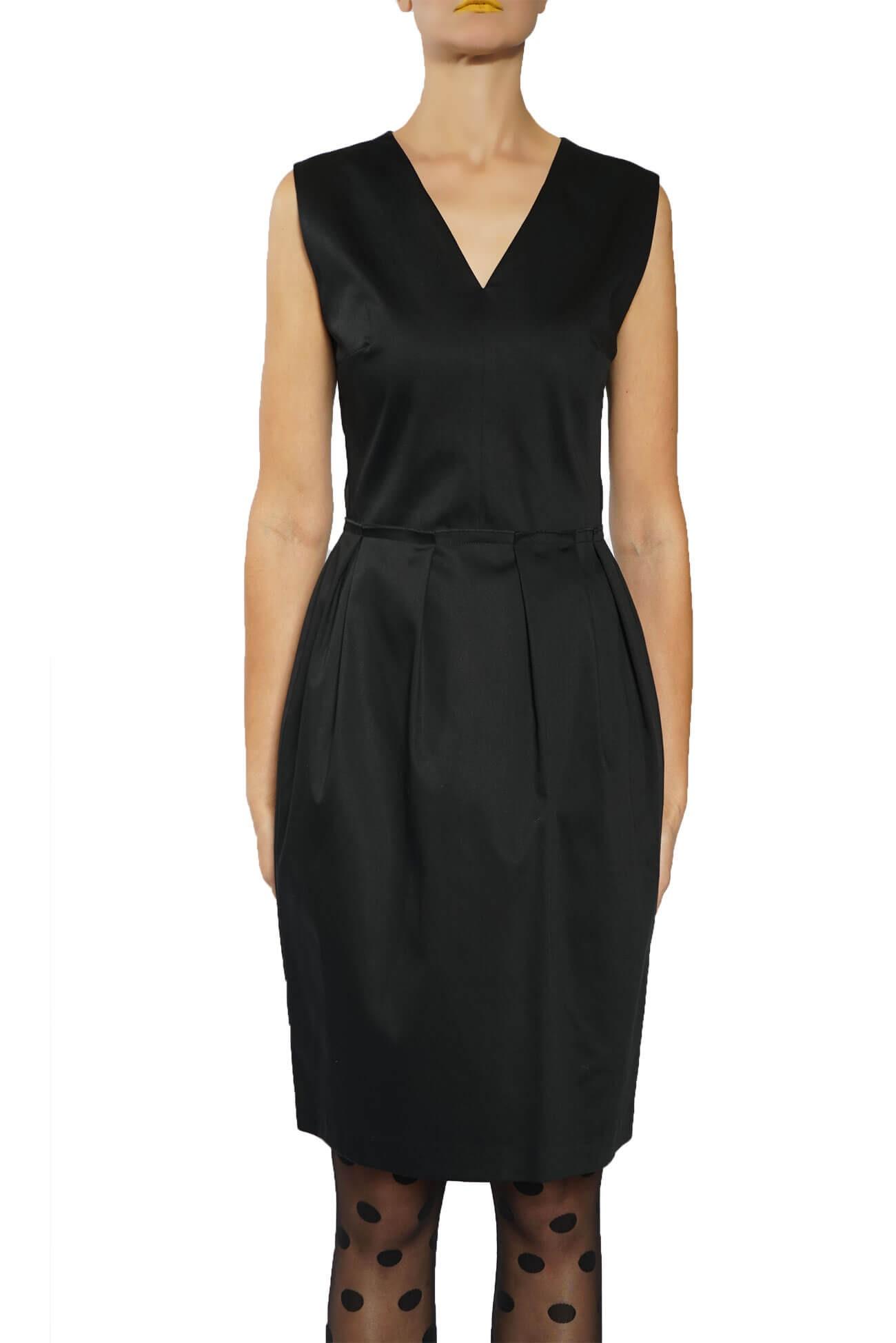rochie midi din bumbac
