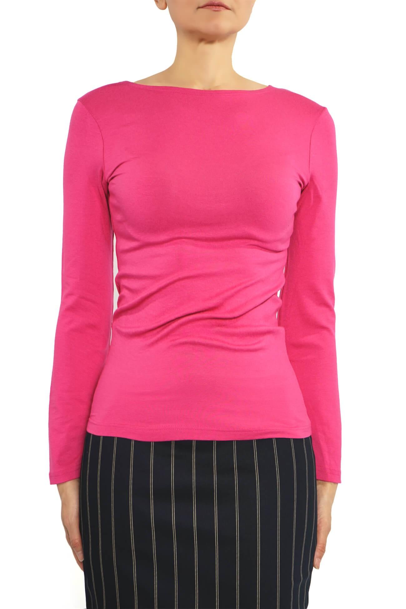 bluza barcuta cu maneca lunga