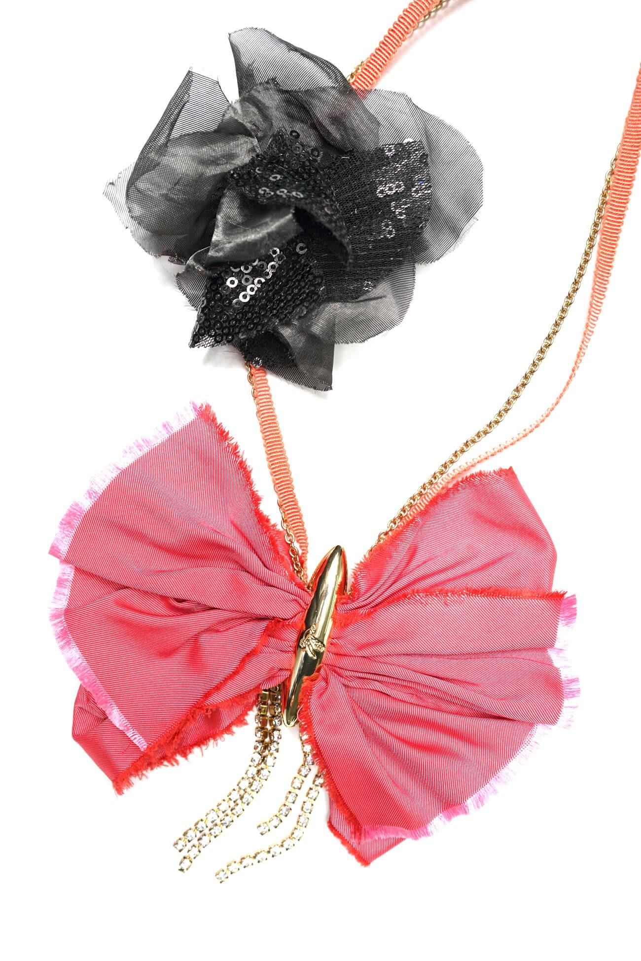 colier cu funda roz  (  produs la precomanda  )