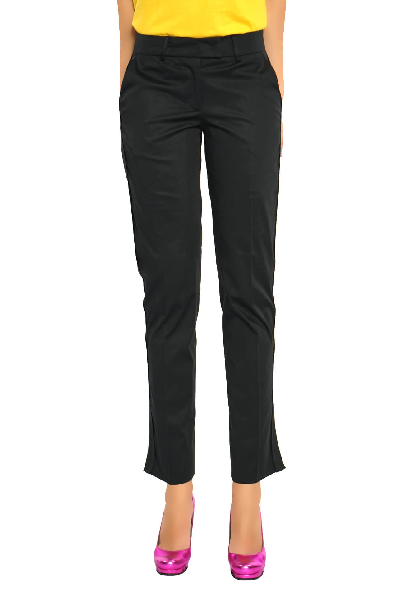 pantalon trei sferturi cu bentita  (  produs la precomanda  )