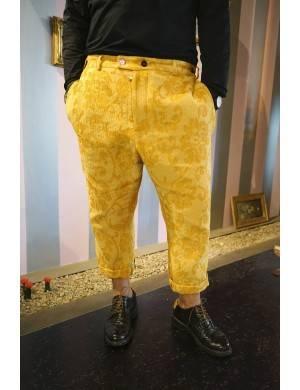 Pantalon galben barbatesc (produs la precomanda)