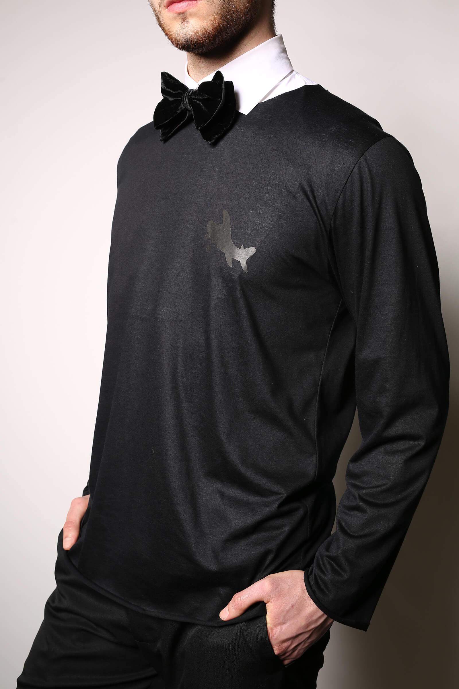 Guler camasa alba